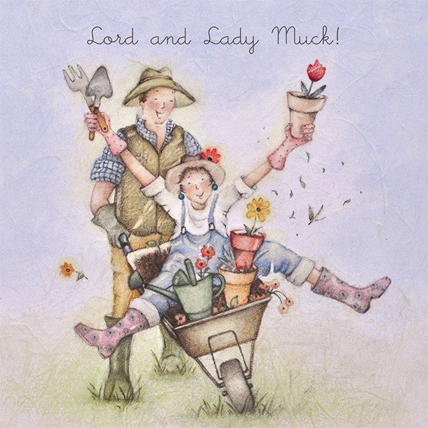 Lord and Lady Muck! Berni Parker