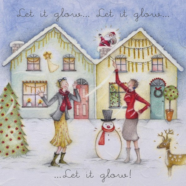 Christmas Card - Let it glow... - Berni Parker