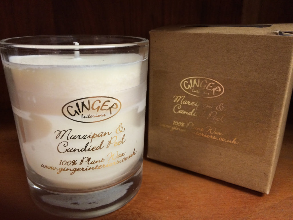 Scented Candle 20cl - Christmas - Marzipan & Candied Peel