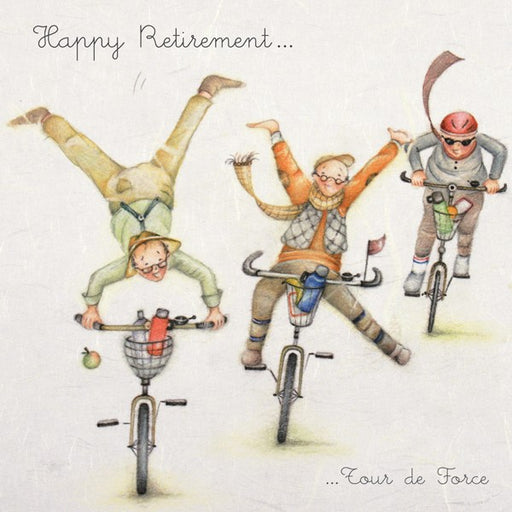 Retirement Card - Tour de Force - from Berni Parker