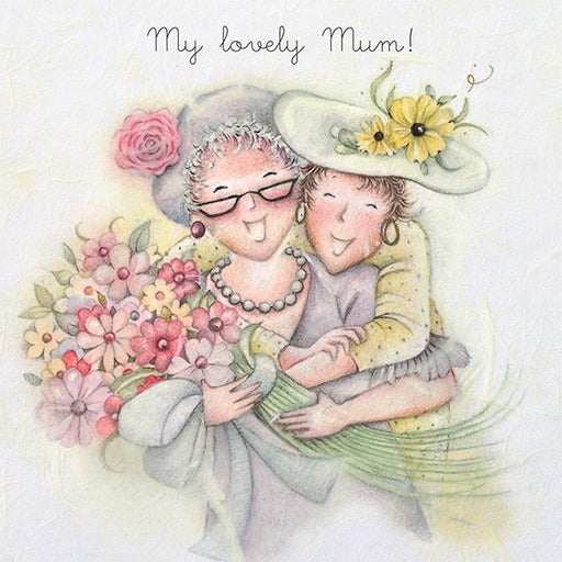 Card for Mum - My Lovely Mum!