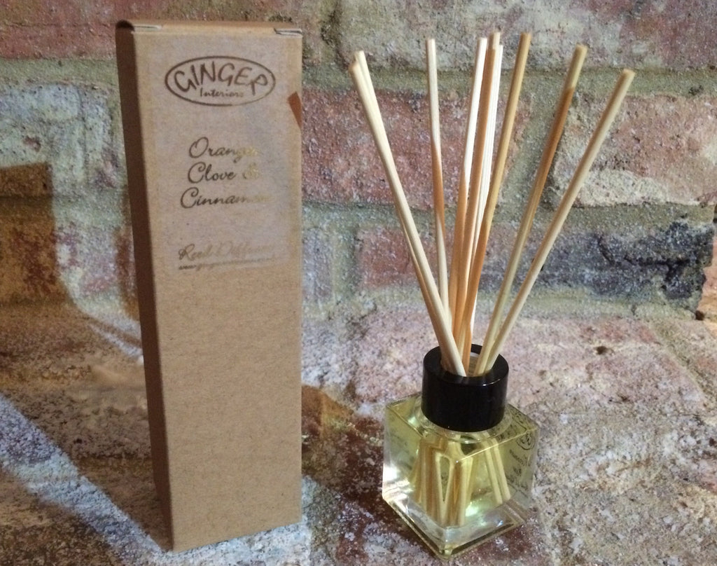 Reed Diffuser 50ml - Christmas - Orange Clove & Cinnamon