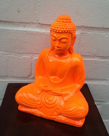 Orange Buddha (20cm)