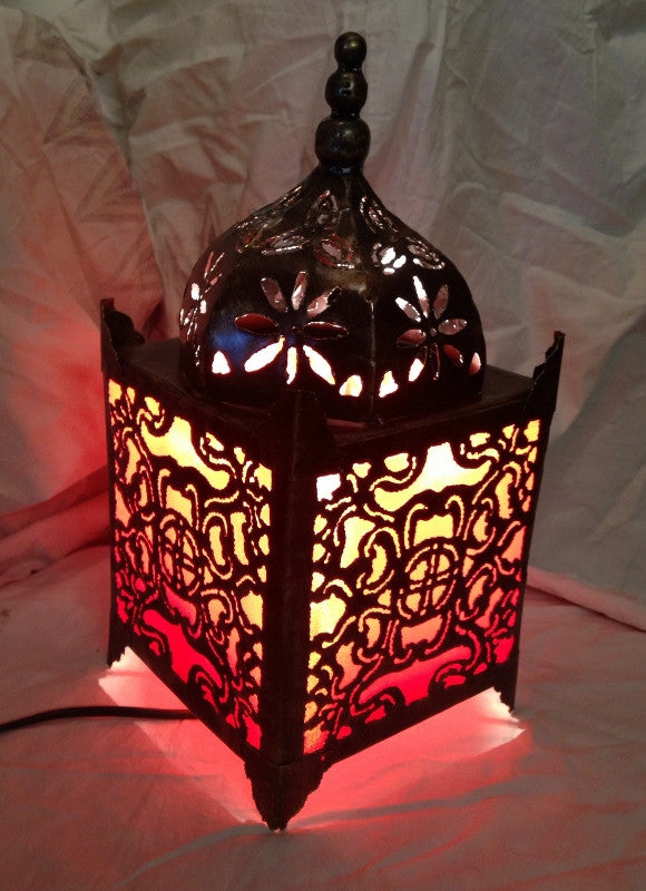 Moroccan table lamp orange temple lamp gingerinteriors moroccan table lamp orange temple lamp aloadofball Image collections