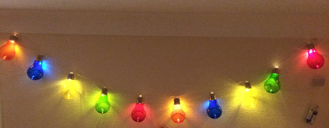 Party Lights - LED Light Bulb String