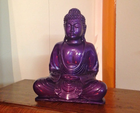 Purple Buddha - Gloss Finish (20cm)