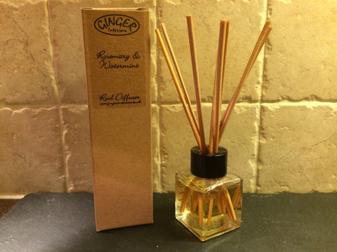 Reed Diffuser 50ml - Fresh - Rosemary & Watermint