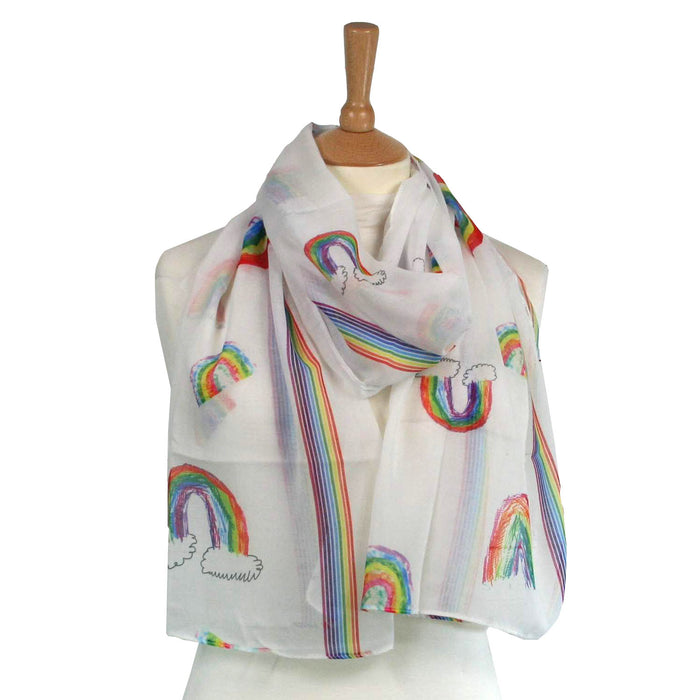 Rainbow Scarf - Supporting the NHS and Key Workers