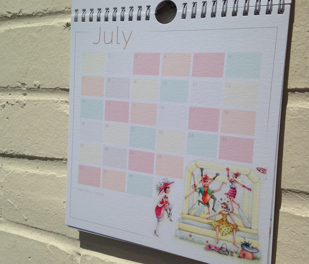Special Occasions and Birthday Calendar from Berni Parker