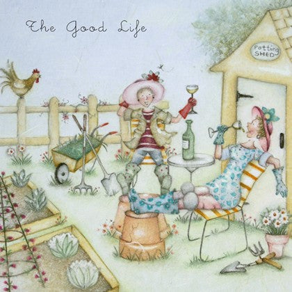 Gardening Card For Her - The Good Life