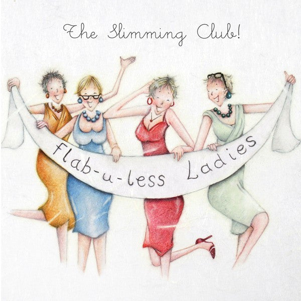 Slimming Club Card - Flab-u-less Ladies - Berni Parker