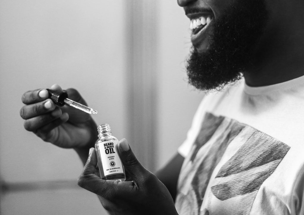 What goes into our products - Beard Oil