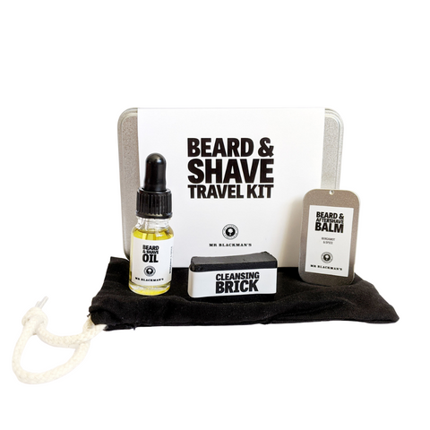 Beard & Shave Travel Kit