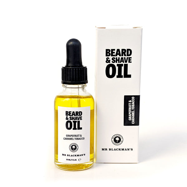 Grapefruit & Caramel Tobacco Beard and Shave Oil