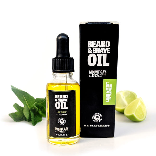 Mount Gay Lime & Mint Beard and Shave Oil