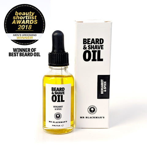 Bergamot & Spice Beard and Shave Oil