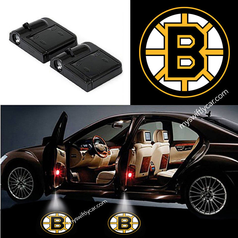 Bespoke Automobile Light Wireless Batteries Hockey Sports Boston Bruins