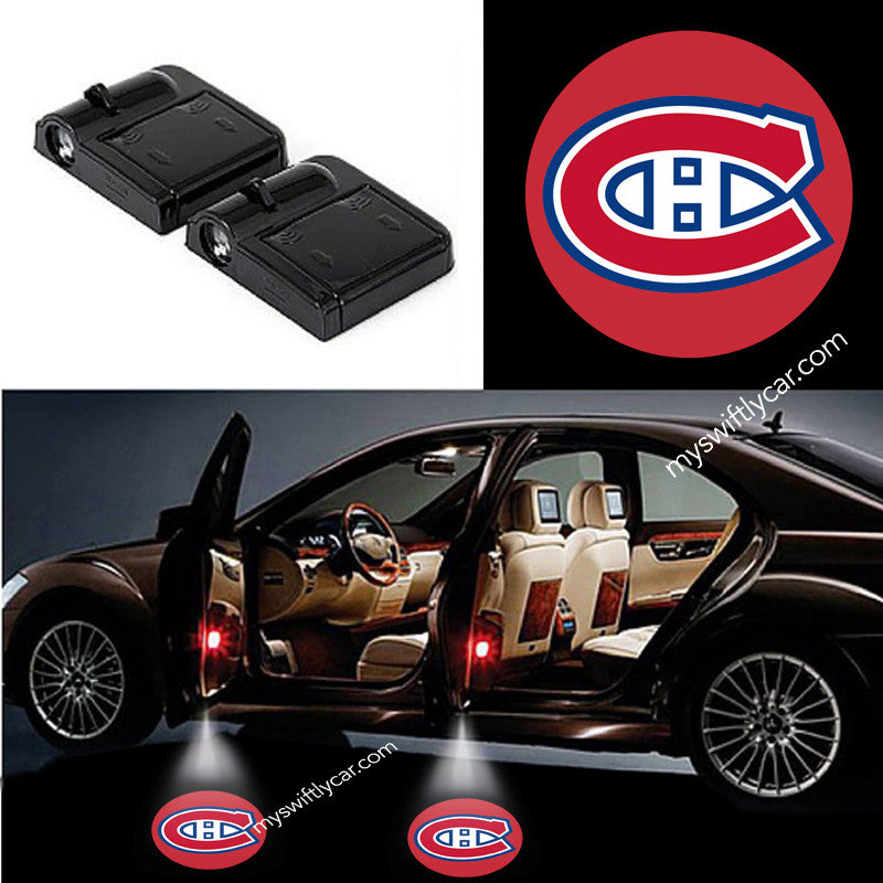 Montreal Canadians Canadiens best cheapest free wireless car light logo led