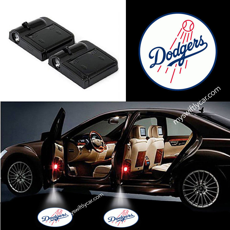Los Angeles Dodgers best cheapest free wireless car light logo led cree