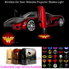 2 Wireless LED Laser Wonder Woman Car Door Light 2