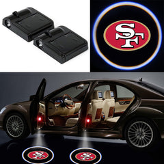 2 Wireless LED Laser San Francisco 49ers Car Door Light