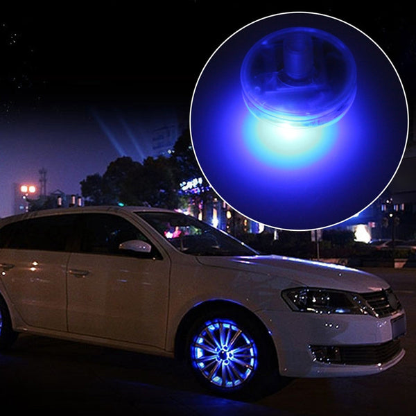 4 Wheel Solar Powered Rim Lights (13 Lighting Modes)