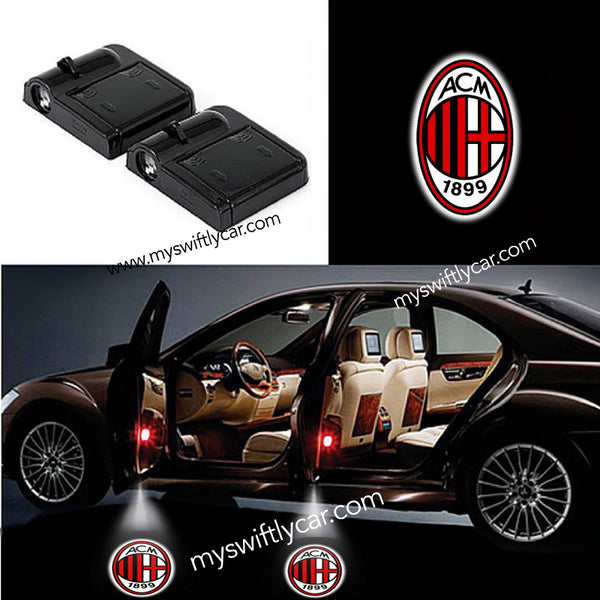 2 Wireless Cars Light for AC Milan