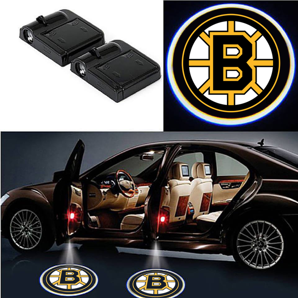boston bruins national hockey league NHL car projector light LED wireless ice hockey