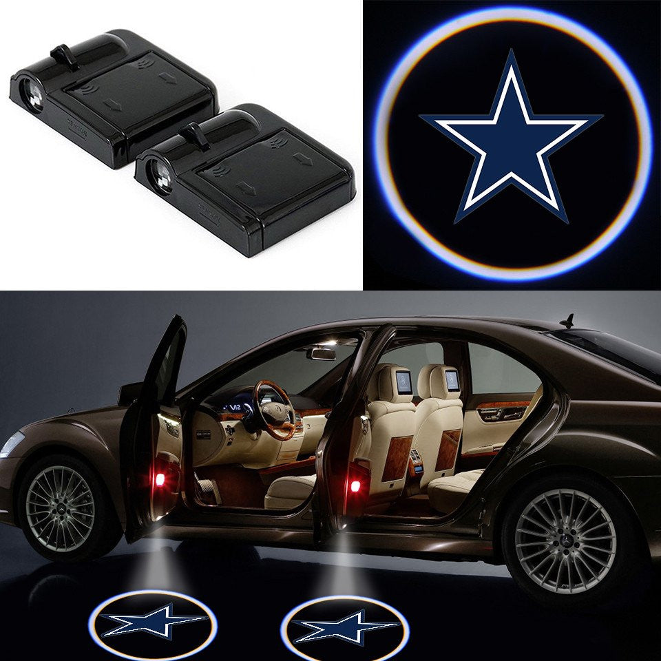 Wireless LED Dallas Cowboys Car Door Light Best Cheap Quality