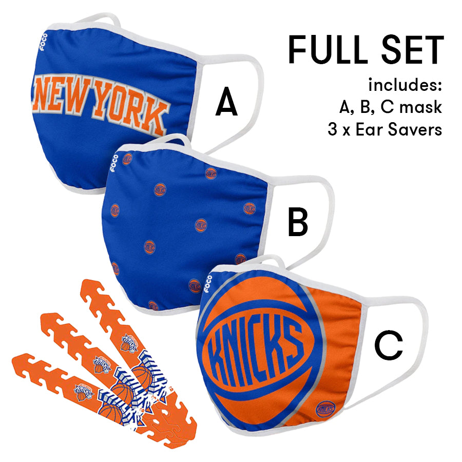 New York Knicks Mask and Ear Saver
