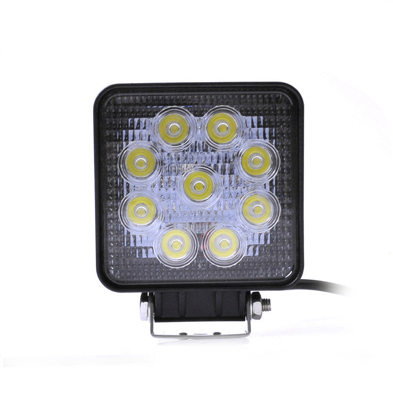 9-LED Ultra Wide Focus Waterproof Light Pods (Universal Fit)