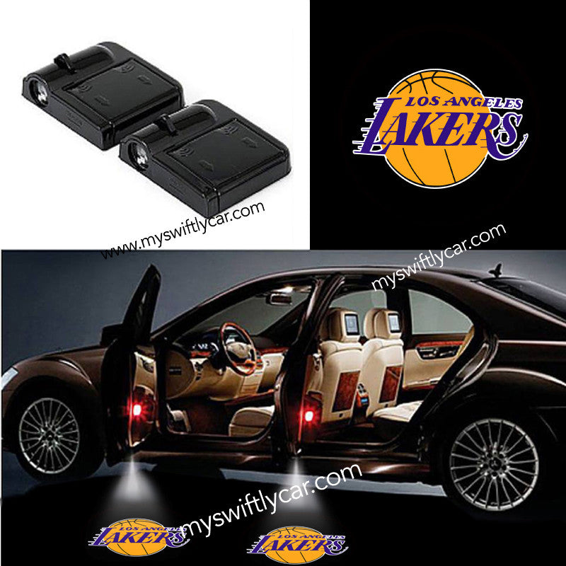 2 Wireless Cars Light for LA Lakers