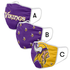 Minnesota Vikings Mask and Ear Saver