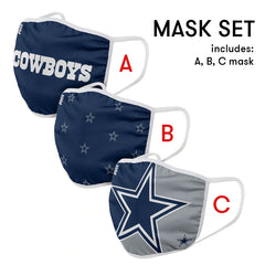 Dallas Cowboys Mask and Ear Saver