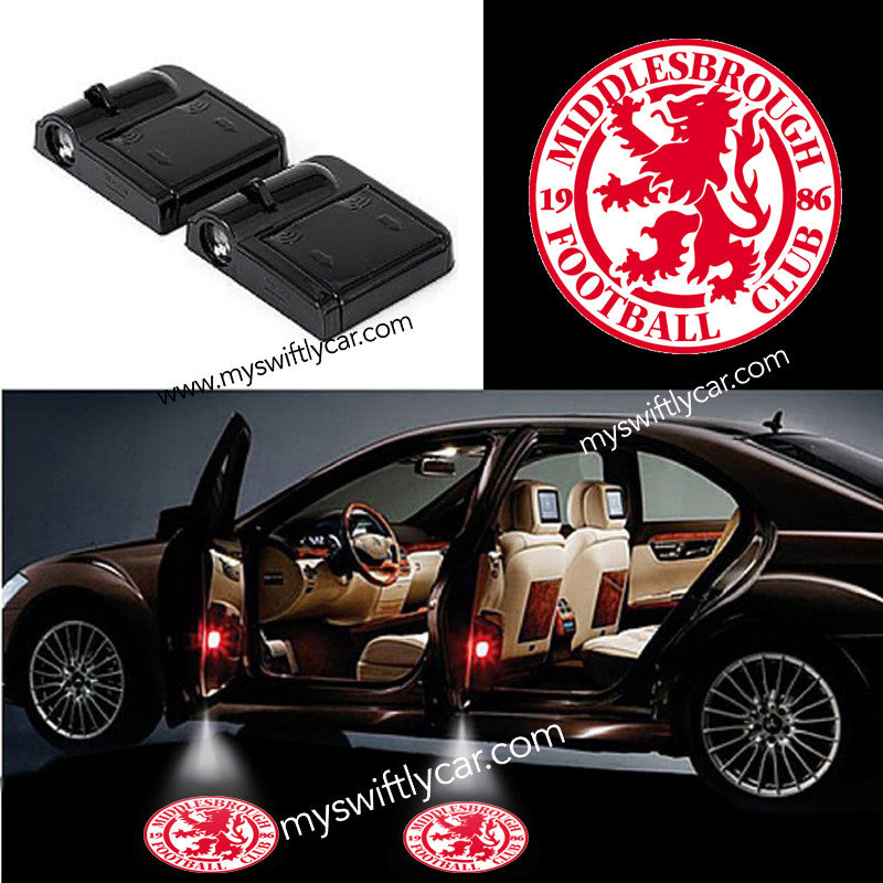 Middlesbrough Crest free best cheapest car wireless lights led