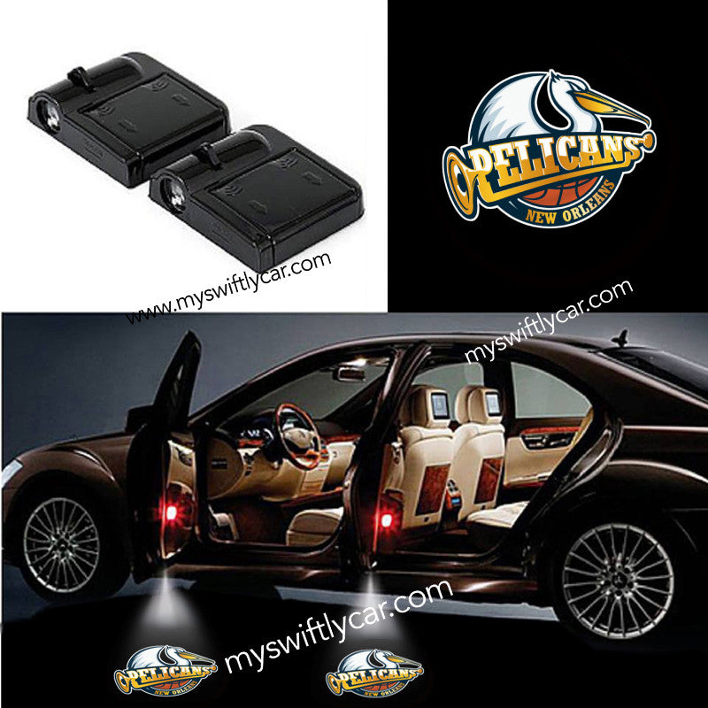 2 Wireless Cars Light for New Orleans Pelicans