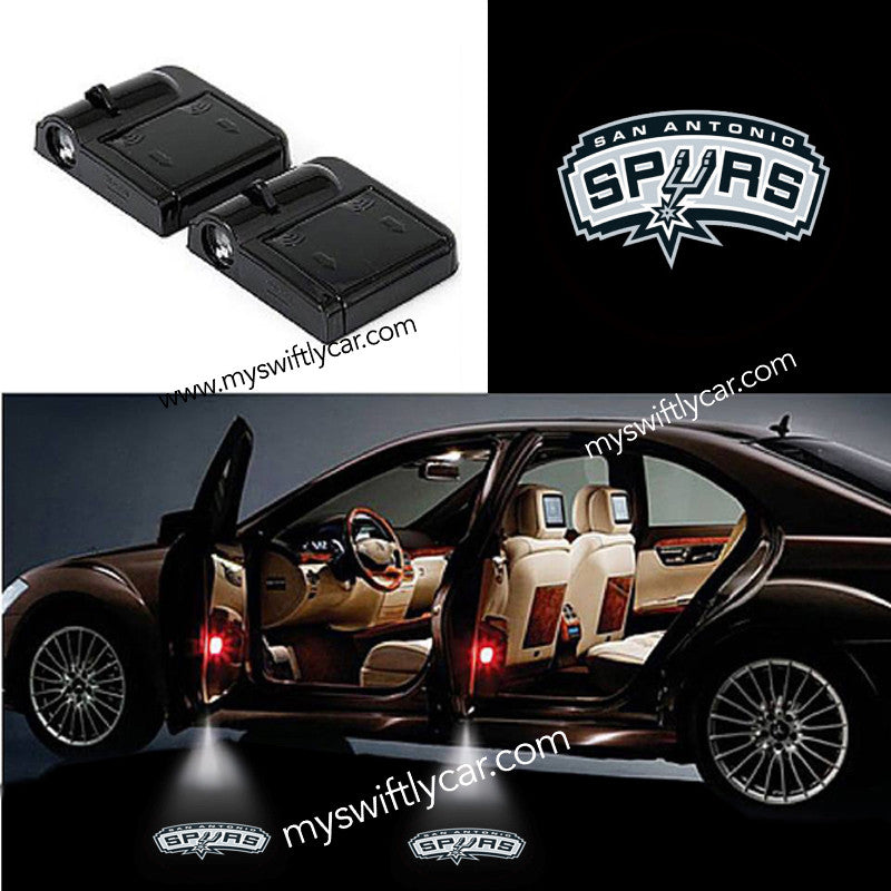 2 Wireless Cars Light for San Antonio Spurs
