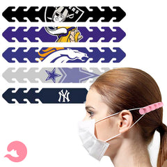Oakland Raiders Mask and Ear Saver