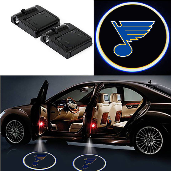 2 Wireless LED St. Louis Blues Car Door Light