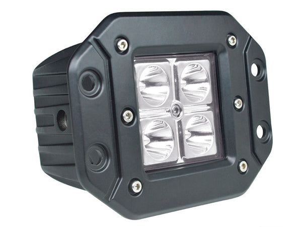 12v Led Work Light Waterproof Driving Lights Pods 12W Led Driving Lights 3 inch SUV