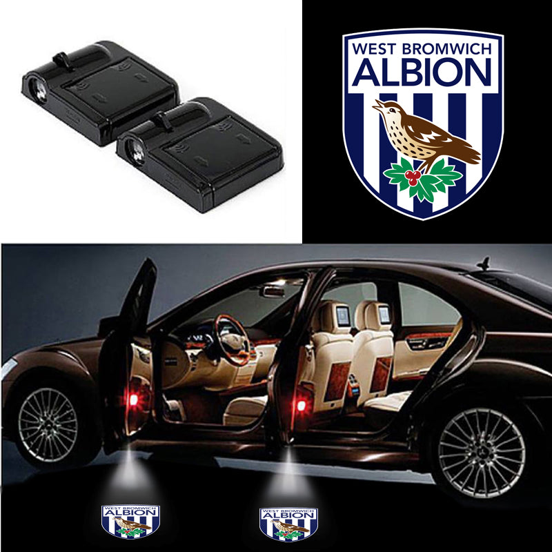 2 Wireless Cars Light for West Bromwich Albion