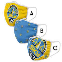 Chicago Sky Face Mask