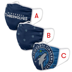 Minnesota Timberwolves Face Mask