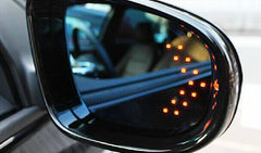 2 Piece LED Car Indicator Lights for Rear View Mirrors