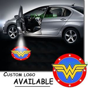 2 Wireless LED Laser Wonder Woman Car Door Light 1