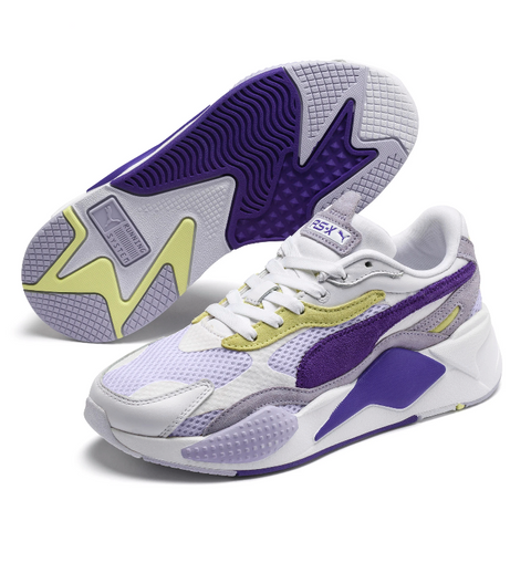 RS-X3 Mesh Pop - White Purple