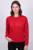 GANT 1949 C-Neck Sweat - Red - GANT - Gensere - VILLOID.no