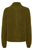 DebbieGZ Short Cardigan - Dark Olive - Gestuz - Gensere - VILLOID.no