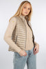 Ladies Down Vest 2222R - Beige
