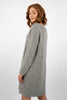 Kala Knit Dress - Light Grey Melange